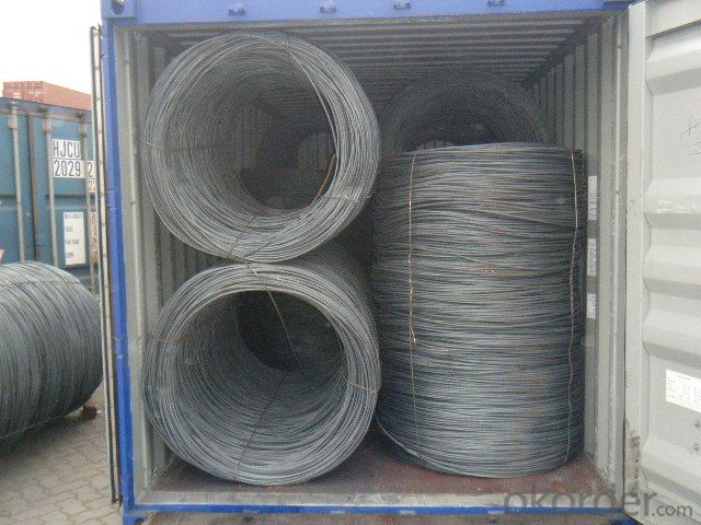 Hot Rolled Steel Wire Rode SAE1006~SAE1018,H08A,30MnSi,62B-82B