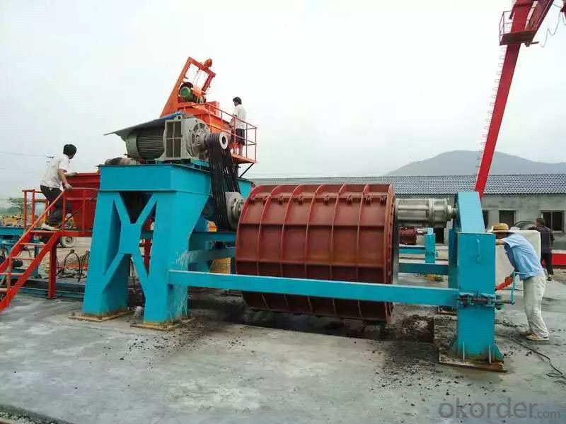 Prestressed Piles Complete Production Line Machine