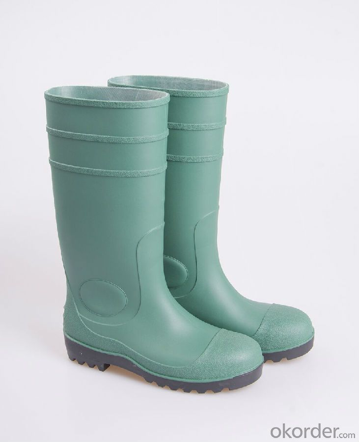 New TPR & PVC Rain Boot & Steel Toe Safety Boots