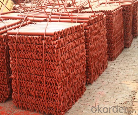 Cup-lock Scaffolding with Q235 or Q345 High Grade Material