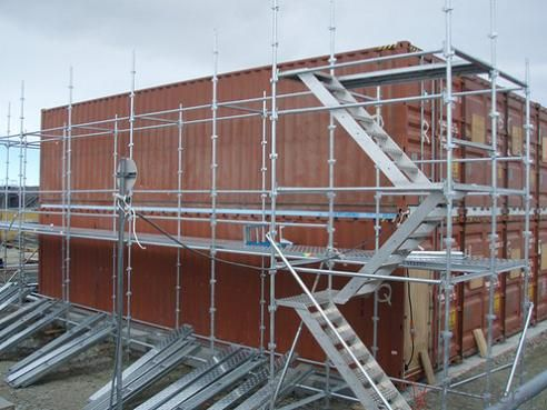 Cuplock System Scaffolding for Large Projects