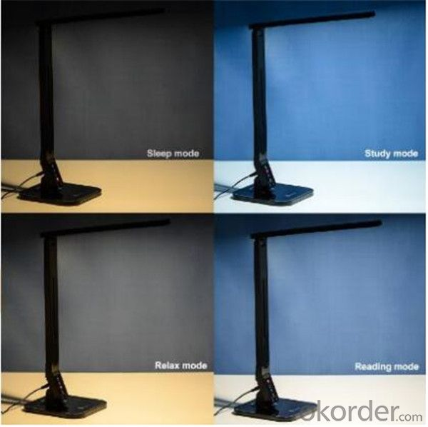 LED Desk Lamp  4 Lighting Modes Reading Studying 5-Level Dimmer, Touch-Sensitive Control Panel