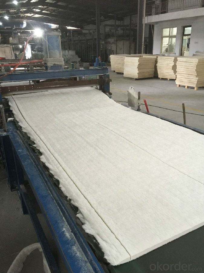 Refractory Insulating Materials Ceramic Fiber Blanket 1400C