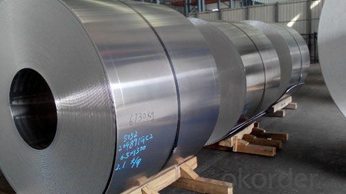 Aluminium Hot Rolling Coil for Flat Cold Rolling
