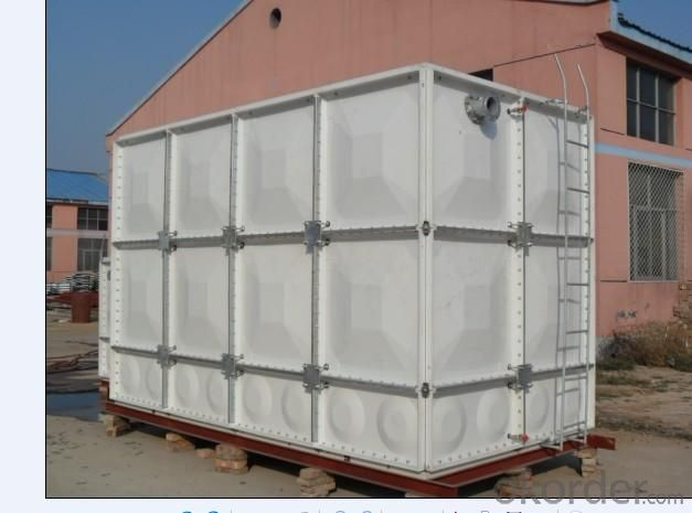 GRP fiberglass frp panel water tank/assembled water tank