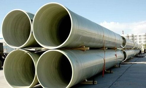 Fiberglass Reinforced Plastic Pipe FRP/GRP Pipe Water Pipes