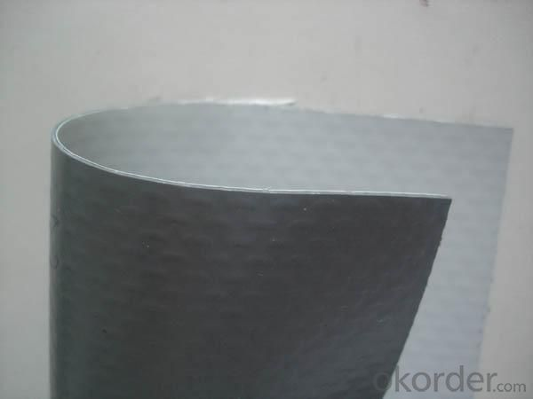 PVC  Reinforced Waterproofing Membrane without Compound Layer