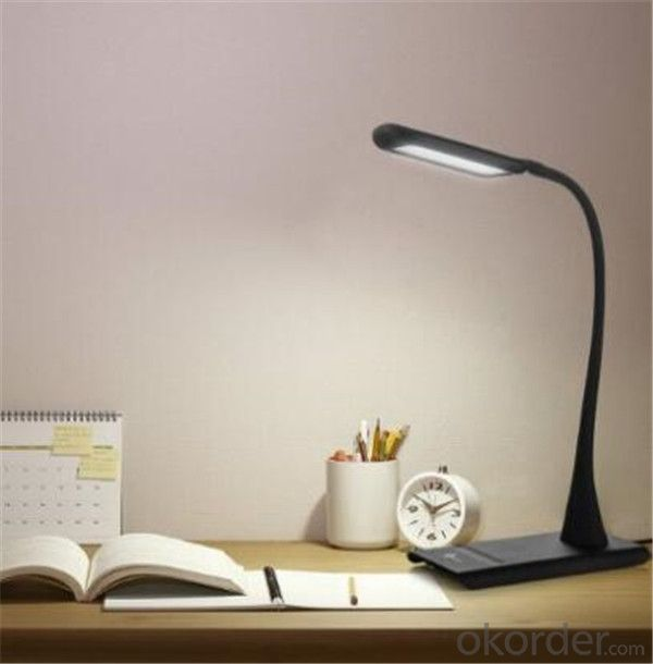Dimmable Eye-Care LED Desk Lamp with Touch-Sensitive Controller