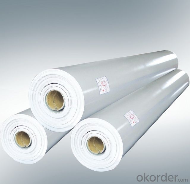 Polyvinyl Chloride PVC Reinforced Waterproof Membrane