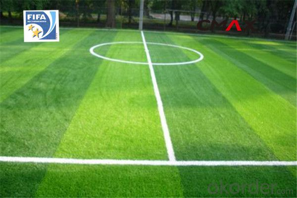 Artificial Grass Plastic Soccer Football Field  Fake Turf