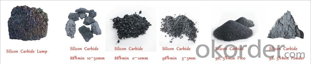 Silicon Carbide 88% 90% 0-10mm Metalllurgical Grade silicon carbide
