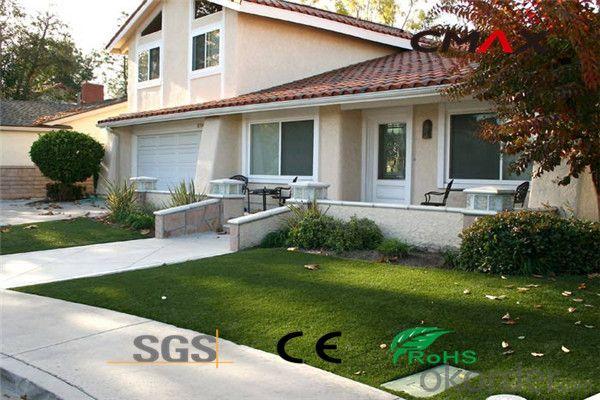 Environmental Friendly Green Turf For Villa Home Garden Landscaping Artificial Grass