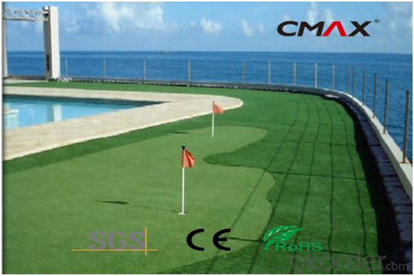 Synthetic Grass Lawn for Golf China Waterproof