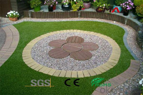 Artificial Turf Garden Certificated Fake Grass