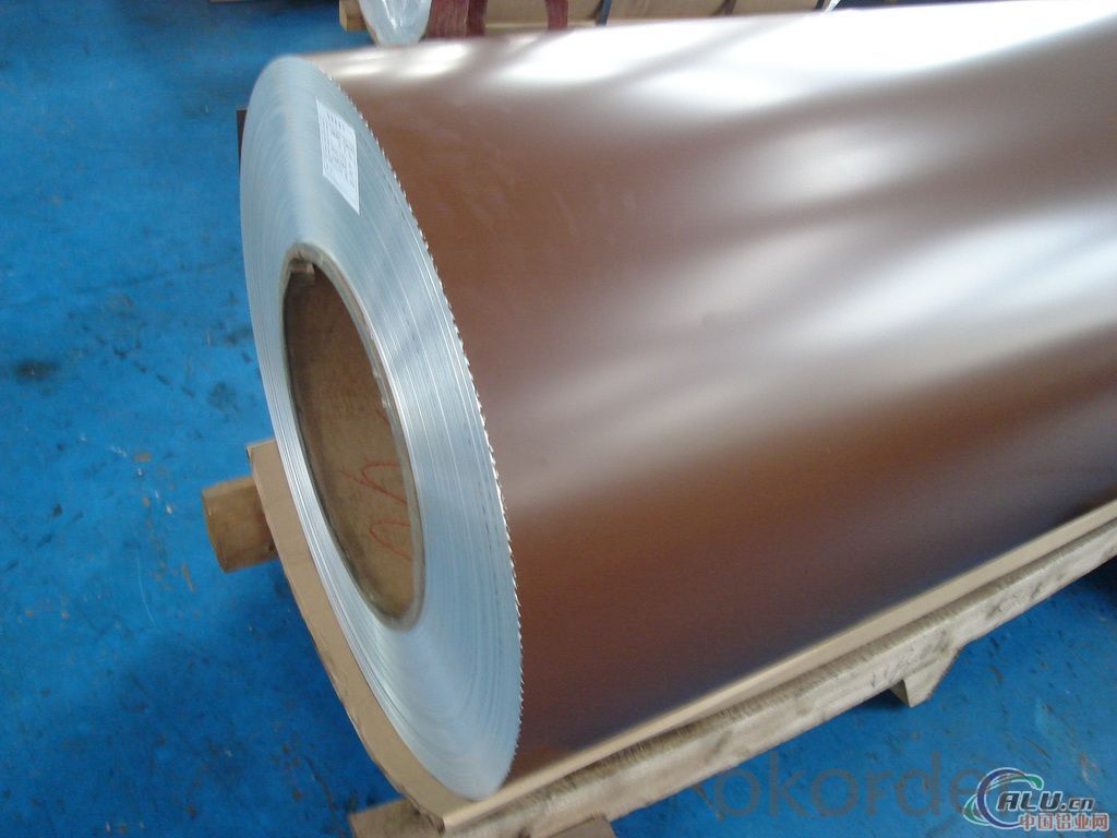 Domestic Color Coated Aluminium Coils for Wall Curtain