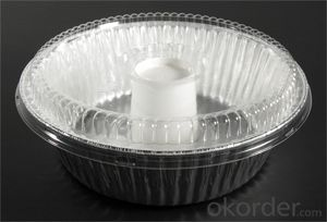 218x112x60mm 1000ml disposable aluminum foil take away food container with lid