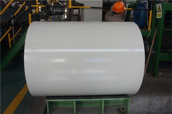Coated steel coil with galvanized and color from china suppiler