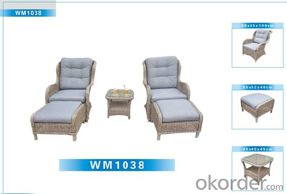 Outdoor Furniture Rattan Sofa CMAX-WM1038