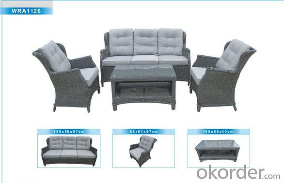 Outdoor Furniture Rattan Sofa CMAX-WRA1126
