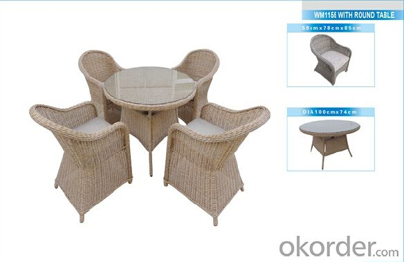 Outdoor Furniture Rattan Sofa CMAX-WM1038/3-1-1