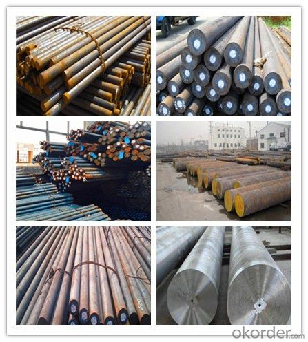 Gear Steel 20CrMnTi Forged Round Steel Bar