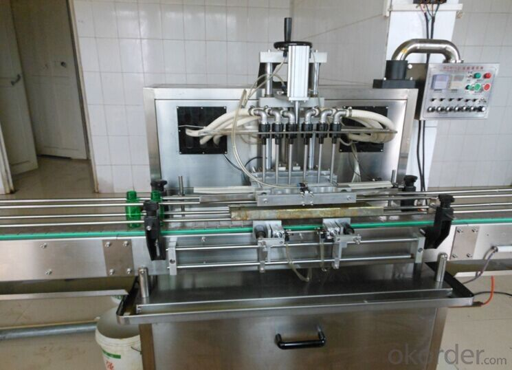 Automatic Linear Liquid Filling Machine for Packaging