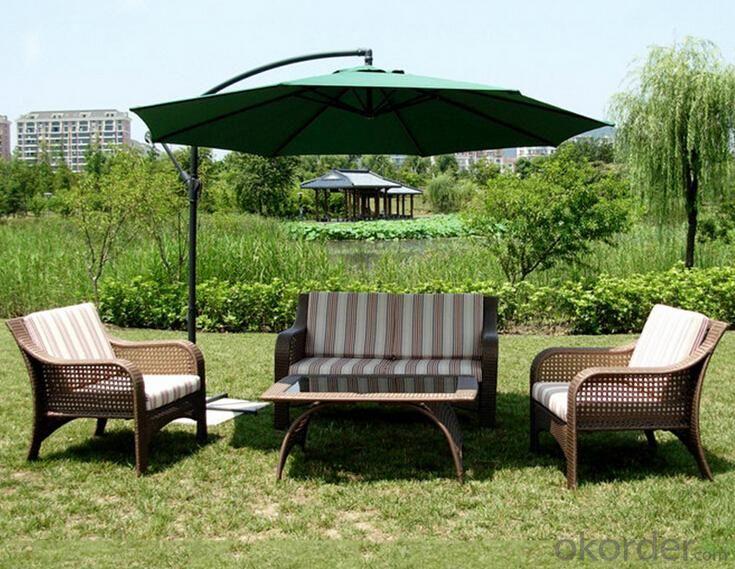 Outdoor PE Wicker/Rattan Sofa CMAX-YHS0211