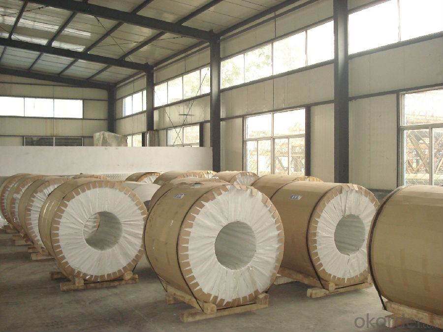 Aluminium Coil for Color Coated Making and Prepainting