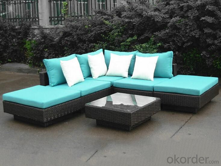 Outdoor PE Wicker/Rattan Sofa CMAX-YHA003