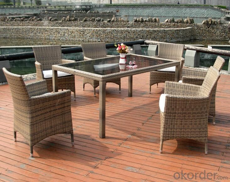 Outdoor PE Wicker/Rattan Sofa CMAX-YHA006
