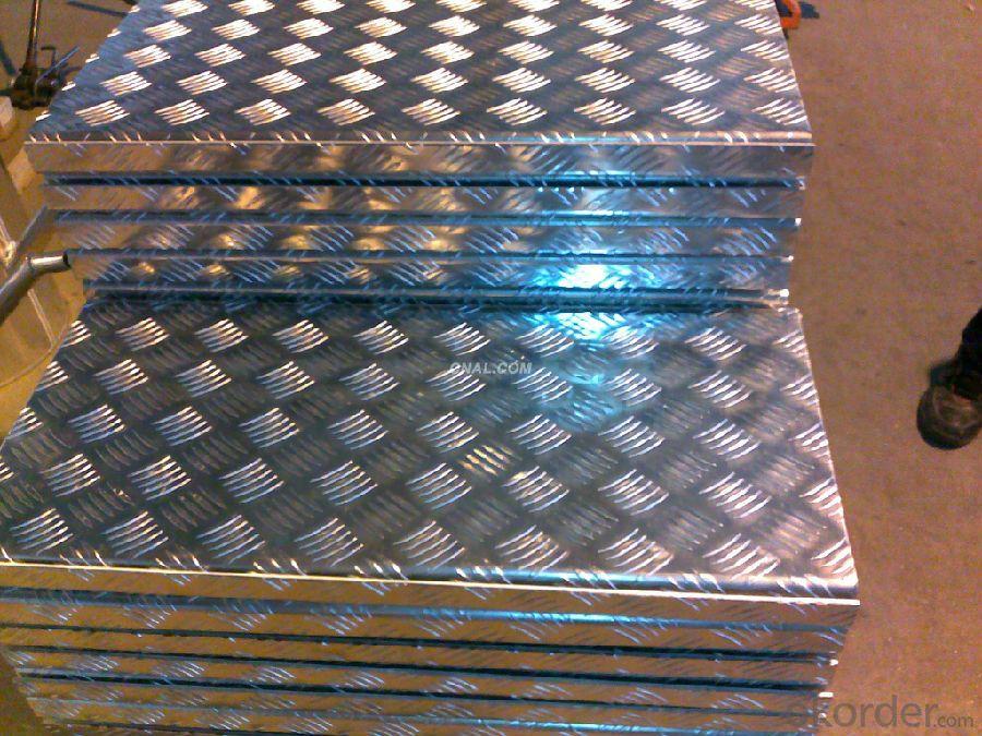 Aluminium FIve Bars for Skid Resistance Application