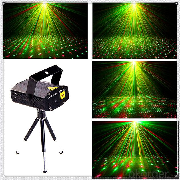 Stage Moving Head Lights 60W LED China Green