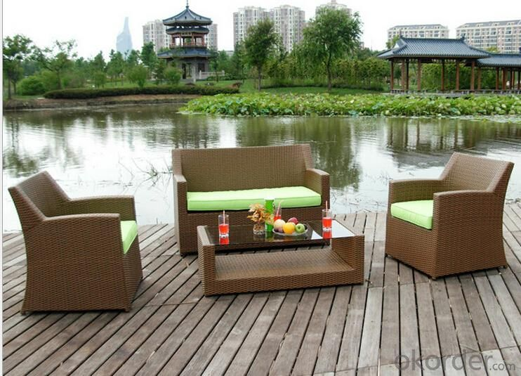 Outdoor PE Wicker/Rattan Sofa CMAX-YHA024