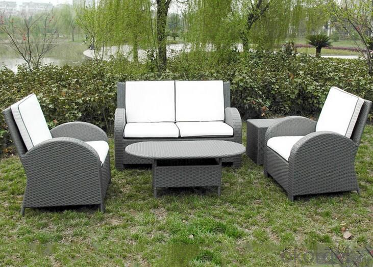Outdoor PE Wicker/Rattan Sofa CMAX-YHA090