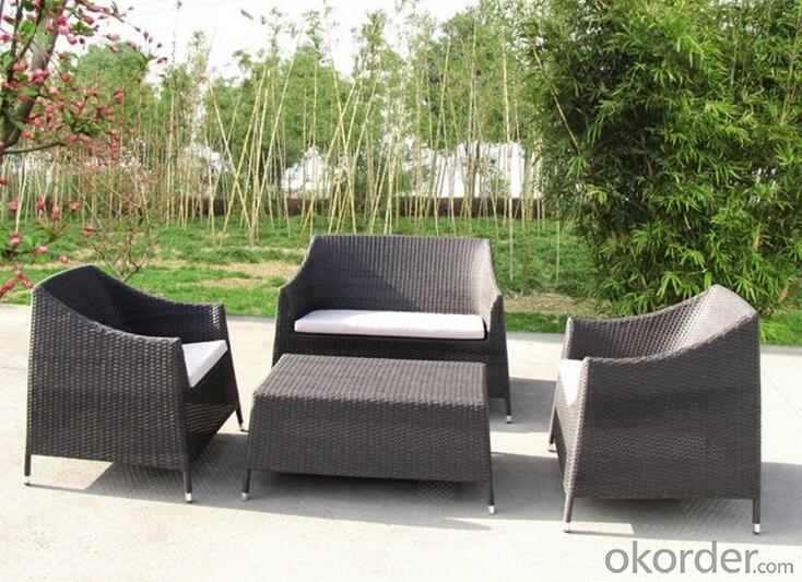 Outdoor PE Wicker/Rattan Sofa CMAX-YHA079
