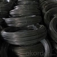 Factory Black Annealed Binding Wire 2016 Low Price with Plastic Packing