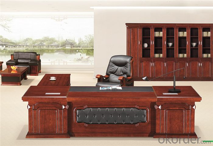 Executive Tables with Veneer Painting Surface