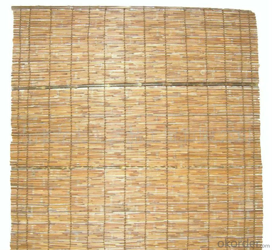 Reed Garden Screen Natural Decoration Reed