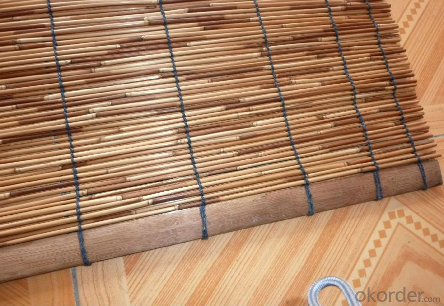White Natural Bamboo Fence White Natural Bamboo