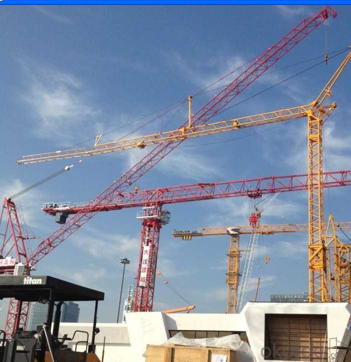CMAX TC4808 Tower Crane Gained Approvals of CE