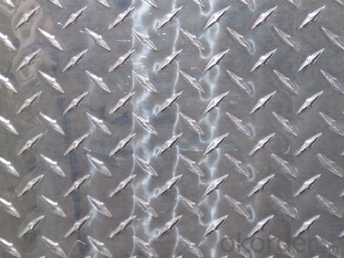 Aluminum Diamond Checkered Sheet Price Wholesale 1000 Series