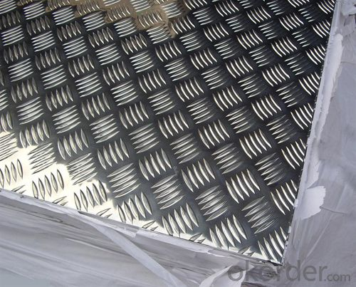 Anti Slip Embossed Aluminum checkered Sheet/Plate