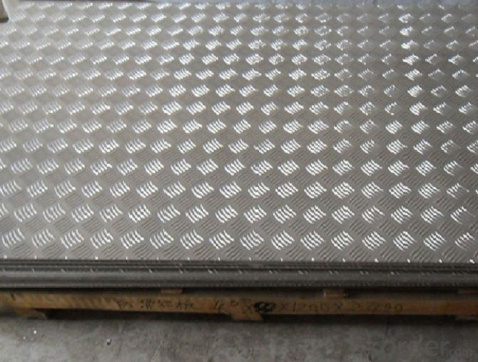 Aluminium Embossed Sheet/ Plate for Non-slip Floor