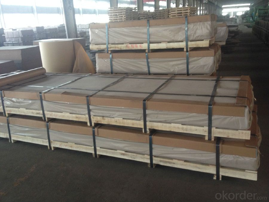 AA5xxx Embossed Aluminum Sheets Used for Construction