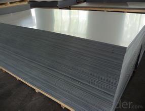 DC Aluminium sheet for making car trailer