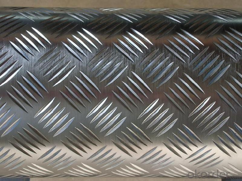 AA3xxx Embossed Aluminum Sheets Used for Construction