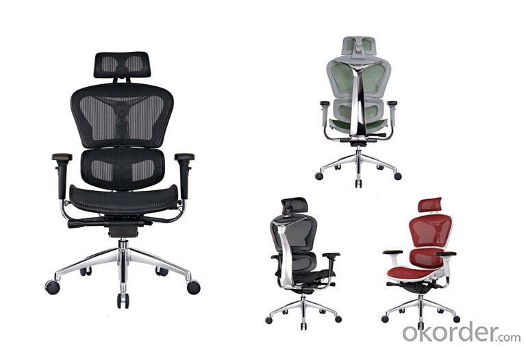 High Back Office Mesh Fabric Material Chair