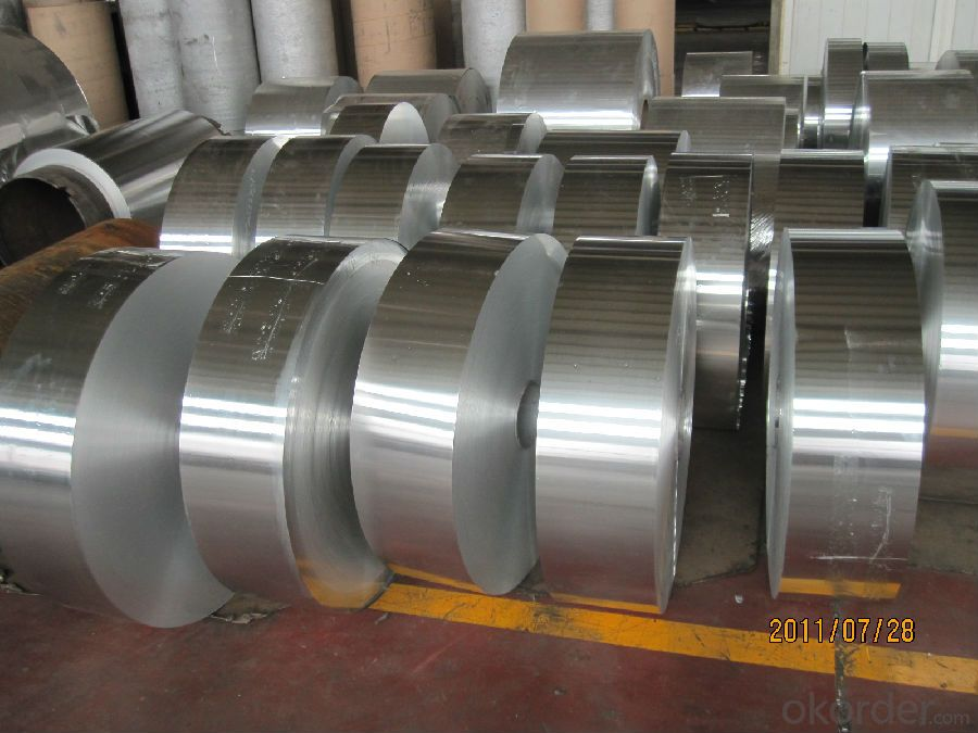 Slitted Aluminium Coil for making refrigerator