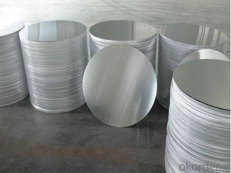 AA1060 C.C Mill Finished Aluminum Circles used for Cookware