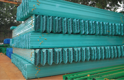 Galvanized Steel Highway Guardrail Road Safety Barrier